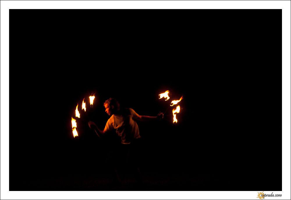 Fire Dancers - 8