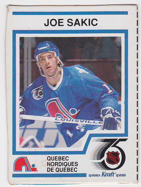 Kraft Dinner - Joe Sakic - Front