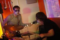 Spider Bags, La Salamandra, Durham NC, 10/28/11 (Ash Crowe) Tags: durham northcarolina spiderbags lasalamandra