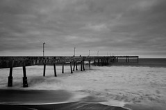 Black & White Pacifica Pier (danielpivnick) Tags: california longexposure blackwhite pacificocean bayarea pacifica pacificapier