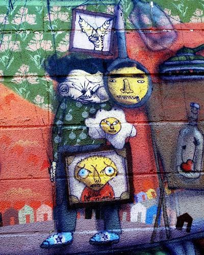 Os Gemeos in Coney Island by LoisInWonderland