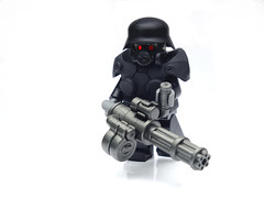 Weird War Nazi Juggernaut ([N]atsty) Tags: world 2 weird war lego nazi swastika wwii hazel ama figure ba minifig heavy juggernaut minigun minifigure brickarms