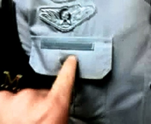 Policial sem identificação - FFLCH - USP - 27/X/2011