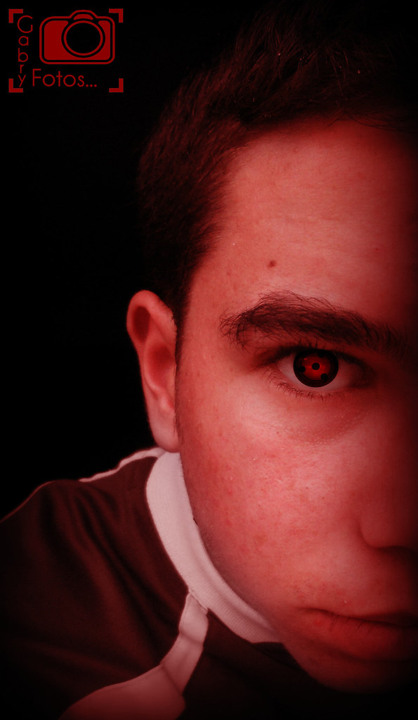 Sharingan.. Happy Halloween !