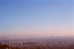 (JuliaBrokaw) Tags: film smog losangeles griffithpark expired
