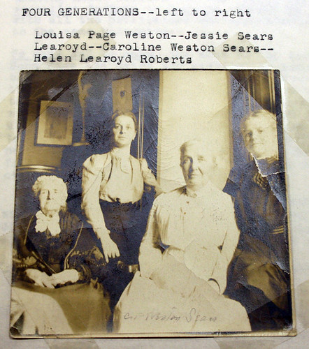 Sears Weston four generations