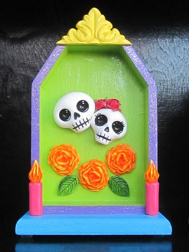 Dia de Los Muertos Decorative Art