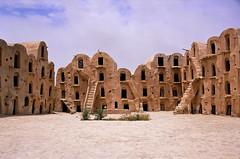 Tatooine Tunisia 2002 [Explore] (It's my whole damn raison d'etre) Tags: africa film alex tunisia north grain storage berber tatooine thechallengefactory erkiletian yahoo:yourpictures=wonders