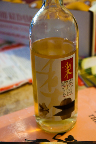 Subarashii Kudamodo Asian Pear Wine
