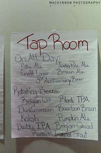 Tap Room List