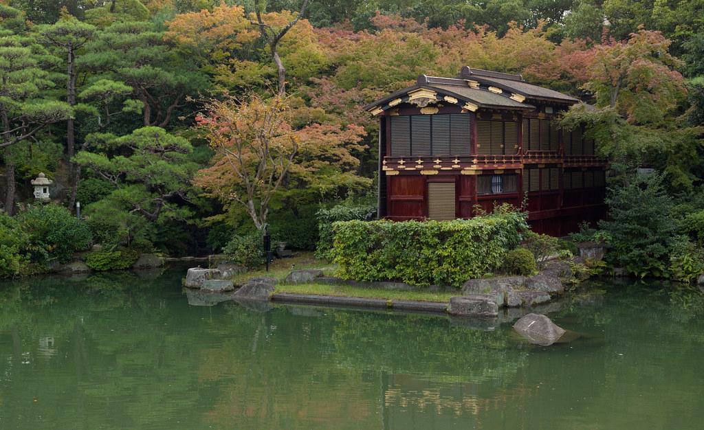 Funa-Yakat in Sorakuen, Kobe