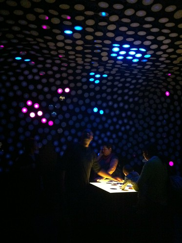 Interactive Installation (Fiducial) #1 by Davide Restivo