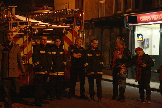 bonfire firemen