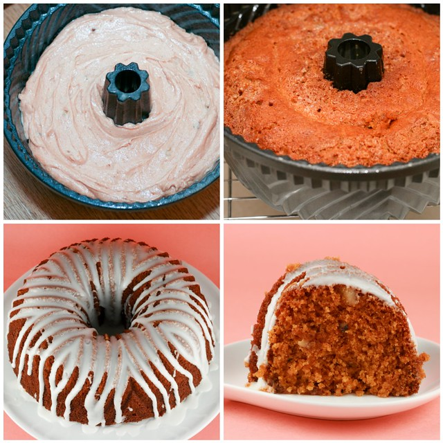 Tomato Soup Bundt collage