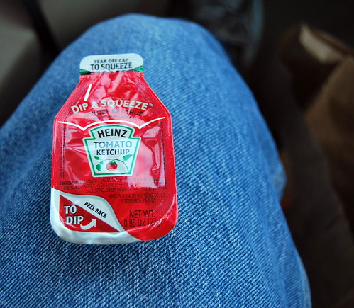 Funnest Ketchup to Go Ever