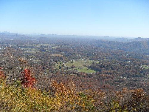 View from Roanoke Mountain
