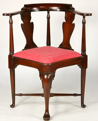 92. Queen Anne style Corner Chair