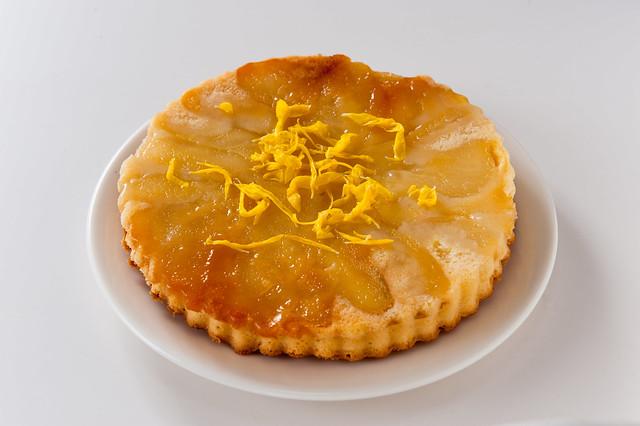 2011-11-08 ラフランスのアップサイドダウン・ケーキ