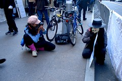 OCCUPY WALL STREET • the mask • 11/5/11