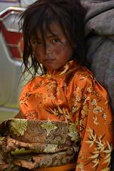 Tibetan girl at Litang horse festival (Matt Amery) Tags: china sichuan litang tibetangirl horsefestival