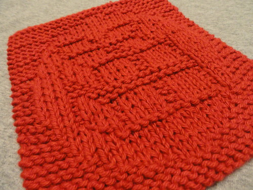 present dishcloth