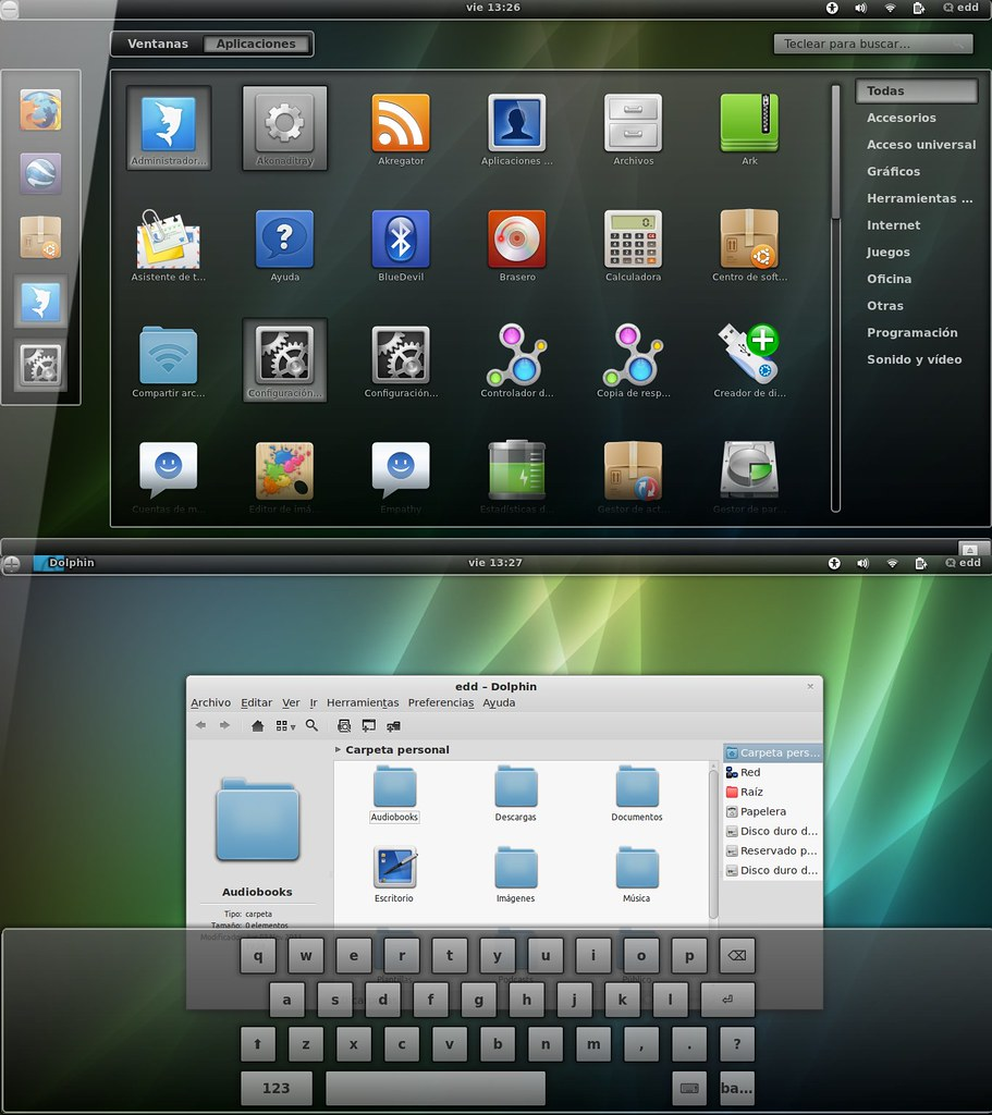 Ubuntu oneiric shell themes