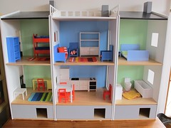 My first dolls house! (*alexisbears*) Tags: house ikea doll dollshouse lilabo