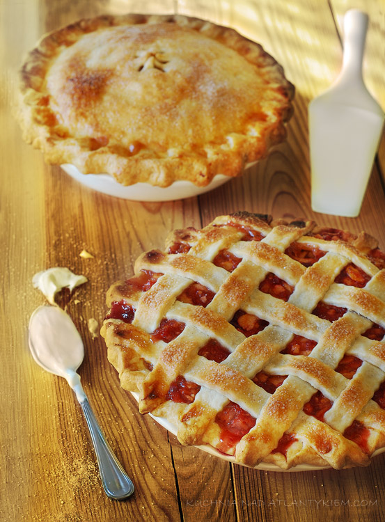 Apple cramberry Pie