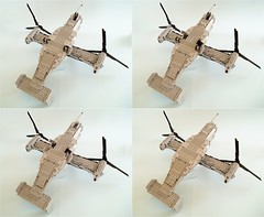 MV-22B Osprey (13) (Mad physicist) Tags: usmc lego military marines osprey v22 tiltrotor mv22b