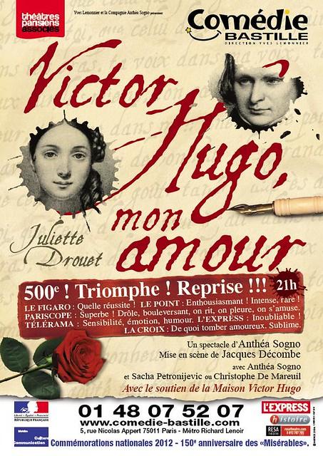 Victor Hugo mon amour 500 ème !