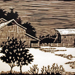 "<b>Weathered Grace</b><br/> Moore ('72) (Woodcut)<a href=""//farm7.static.flickr.com/6217/6344838746_43f3959a41_o.jpg"" title=""High res"">∝</a>"