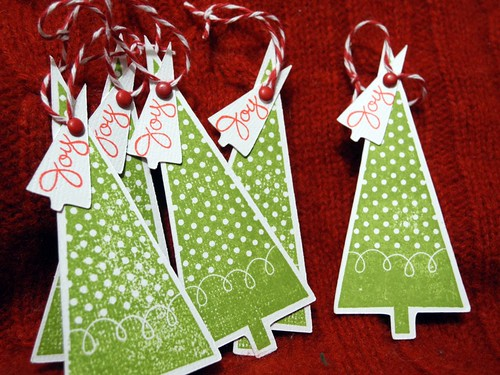 Joy Tree Tags (set)