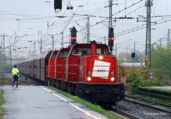 Dutch Railion locos in Germany (Amsterdam RAIL) Tags: rain germany deutschland loc fret railways freight mak spoorwegen lok locs railion goederen emmerich 6491 goederentrein goederenvervoer duitseherders railion6491