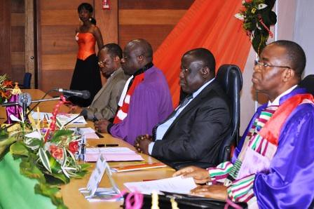 Allocution du ministre: Cérémonie d'ouverture à la 15ème session du concours d'agrégation du CAMES
