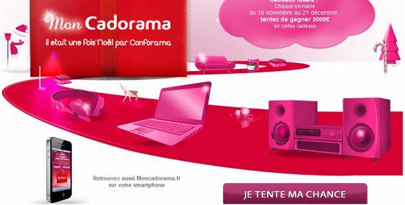 concours cadorama CONFORAMA