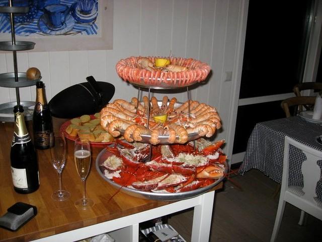 Årets skaldjursplatå