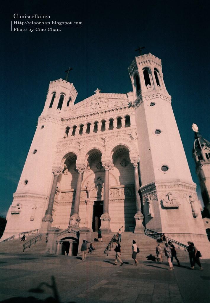 Bonjour Lyon~ 里昂。富維耶聖母教堂 Basilique Notre-Dame de Fourviere 000009