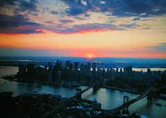 NEW YORK (Giuliana 57) Tags: sunset newyork tramonto manhattan fiume hudson lagrandemela