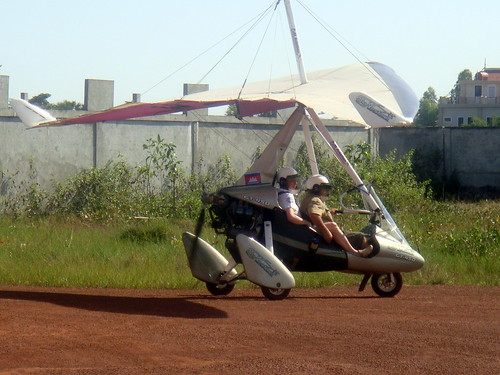 SkyVenture Microlights- Soaring over the Cambodian countryside