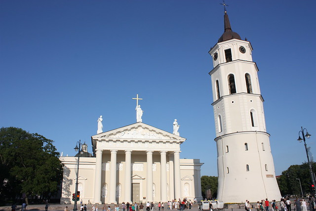 Vilnius Cathedral and Belfry