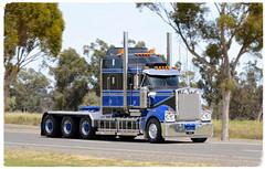 HHA Tri Drive (quarterdeck888) Tags: flickr transport trucks hha kenworth haulage quarterdeck bdouble c508 t908 worldtruck jerilderietrucks
