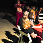 "Wedding belly dancer at reception <a style=""margin-left:10px; font-size:0.8em;"" href=""http://www.flickr.com/photos/51408849@N03/6373915459/"" target=""_blank"">@flickr</a>"