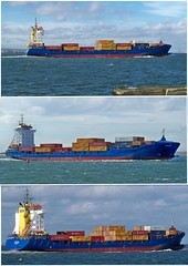 Ships on the Tees-Vohburg (Kev's.Pix) Tags: river seaside ship ships cleveland containership teesside northyorkshire tees rivertees southgare vohburg britishrivers shipsonthetees