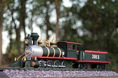 Locomotive Cake (RDPJCakes) Tags: 3d fondant traincake sculptedcake ossas oklahomastatesugarartshow rdpjcakes locomotivecake