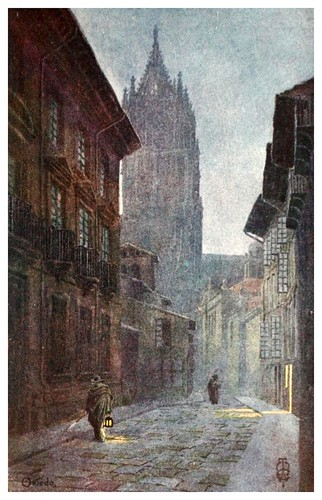24-Oviedo-Northern Spain painted and described-1906- Edgar Thomas Ainger