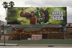 Pasadena_0068 (Thomas Willard) Tags: california wood tree ad billboard advertisement vault soda pasadena ax firewood lumberjack clearchannel