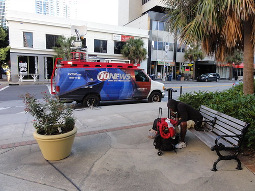 WTSP TC news van