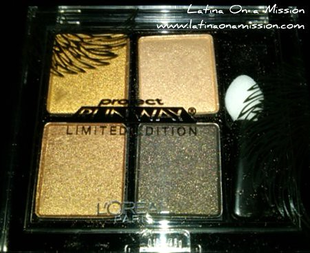 Project Runway Eyeshadow Quad