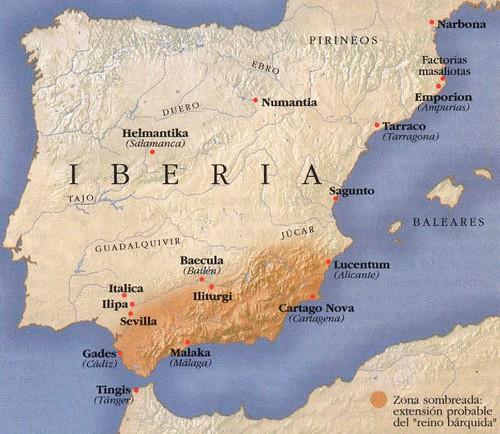 Mapa barquidas