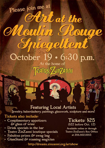 Art in the Moulin Rogue Invite